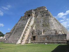 Great Pyramid at Uxmal, Yucatan, Mexico