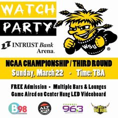 JUST ANNOUNCED: if Wichita State defeats Indiana on Friday, join us for an NCAA...