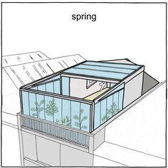 도심 속 옥상정원 리모델링 : 네이버 블로그