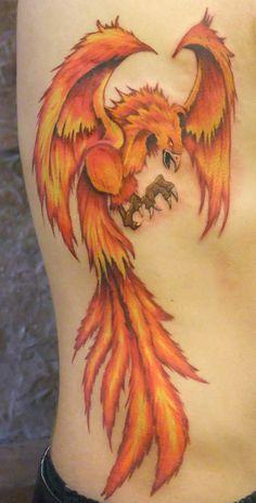 4 Phoenix tattoo