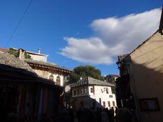 Pelas ruas do centro histórico Mostar Bósnia