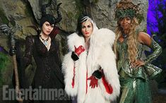 Maleficient, Cruella and Ursulla - Once Upon a Time' bosses tease the Queens of Darkness