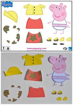 Psicopedagogia Salvador: Para imprimir: atividades com tema Peppa Pig