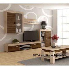 WIP MAMBA Nappali szekrénysor - Natex Nabytok Flat Screen, Furniture, Home Decor, Blood Plasma, Decoration Home, Room Decor, Flatscreen, Home Furnishings, Home Interior Design