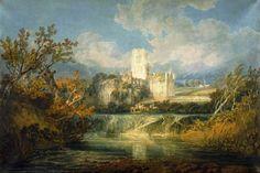 J. M. W. Turner - Kirkstall Abbey, Yorkshire