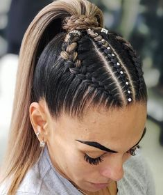 Pin on Hair Ideas Pin on Hair Ideas Cool Braid Hairstyles, Easy Hairstyles For Long Hair, Baddie Hairstyles, Teen Hairstyles, Braids For Long Hair, Athletic Hairstyles, Curly Hair Styles, Natural Hair Styles, Festival Hair