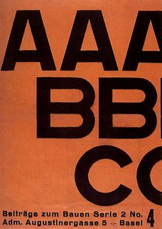 ABC was another publication that El Lissitzky designed as a cover for in the Constructivist approach 1926