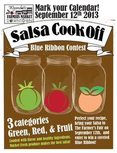 Blue Ribbon Salsa Cook Off