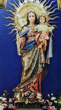 Mother Of Christ, Blessed Mother Mary, Blessed Virgin Mary, Jesus Christ Images, Queen Of Heaven, Mary And Jesus, Scripture Art, Roman Catholic, Christianity