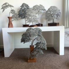 Six WireWood trees by CliveBarrieMaddison on DeviantArt