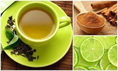 te verde canela y limon para bajar de peso