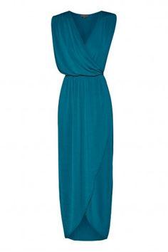 bulgari maxi dress in PEACOCK from Shieke