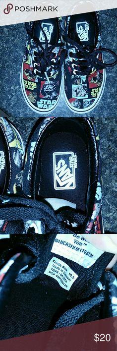 Star Wars Vans Excellent Used Condition Star Wars Vans 10.5 Vans Shoes Sneakers