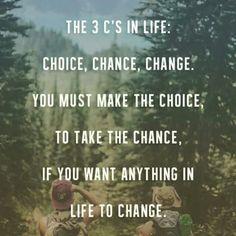 Choice, Chance, Change