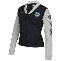 827533f1f Golden State Warriors adidas Women s On-Court Track Jacket - Black Warriors  Merchandise