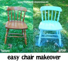 Going to do this with my childhood rocking chair . . . will be so cute in Maddie's new room!