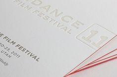 Time Inc- Sundance Film Festival Beauty of Letterpress #Letterpress
