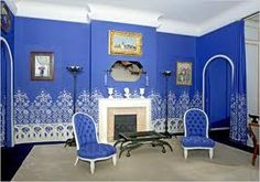 blue white louis chair - Google Search