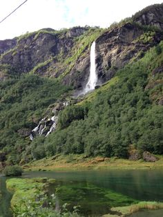 Waterfall, Flam, Norway