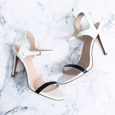 Charles David Black/White Heels A simple shoe for a simple outfit! Great with your brights. Adjustable ankle strap. Comes with box. Open to reasonable offers.  • MAKE ALL OFFERS THROUGH THE OFFER BUTTON • NO TRADES  00504682 Charles David Shoes Heels