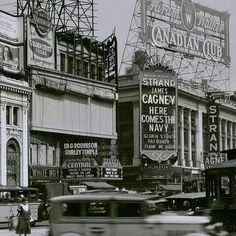 Theatre Distric NYC, 1934