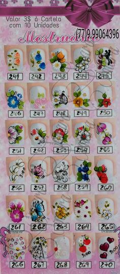 One Stroke Nails, Impalas, Flower Nail Art, Little Flowers, Nails Inspiration, Pedicure, Health And Beauty, Nail Art Designs, Gel Nails