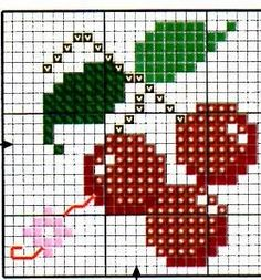Thrilling Designing Your Own Cross Stitch Embroidery Patterns Ideas. Exhilarating Designing Your Own Cross Stitch Embroidery Patterns Ideas. 123 Cross Stitch, Cross Stitch Fruit, Cross Stitch Bookmarks, Cross Stitch Cards, Beaded Cross Stitch, Cross Stitch Alphabet, Cross Stitching, Cross Stitch Embroidery, Modern Cross Stitch Patterns