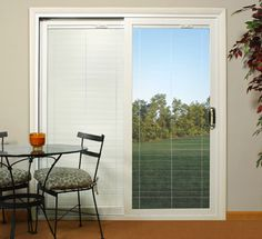 We Love Our Bedroom Patio Doors With The Blinds Inside The Glass, Soooo  Easy To Clean
