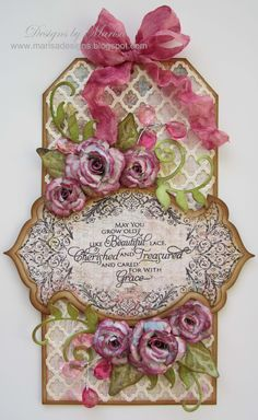 JustRite Papercraft Amazing Paper Grace October Kit. Spellbinders dies.