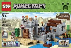 Minecraft LEGO 519 PCS the Desert Outpost Brick Box Building Toys *** Click image to review more details.