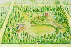 SOOLARBOY: Образ Родового поместья, изложенного в книгах Мегре