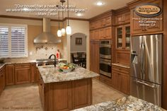 Smart man, that Mark Twain. He captures the essence of home.  Beautiful kitchen too. Please visit http://kbcabinets.com/ to see more beautiful work from KB Cabinets in Millbrae, CA!