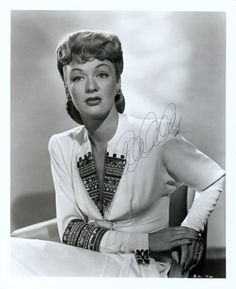 Eve Arden (April 30, 1908– November 12, 1990) was an American actress. Her almost 60-year career crossed most media frontiers with both supporting and leading roles, but she may be best-remembered for playing the sardonic but engaging title character, a high school teacher, on Our Miss Brooks, and as the Rydell High School principal in the films Grease and Grease 2.
