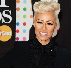 Emelie Sande  at the Brit #Awards #2013    #Beauty #London #Fashion. inspiration for my styling for princeshay shoot feb 2013