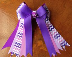 Items similar to Pony Kid English Horse Show Hair Bows - Equestrian Hair Bows on Etsy