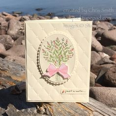 Just a Bow Note by inkpad - at Splitcoaststampers