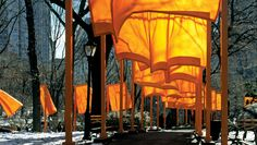The Gates, Central Park, New York_Christo and Jeanne-Claude, 2005