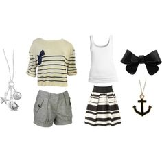 Peffect summer nautical outfits