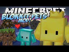 Minecraft | BLOKKIT PETS MOD! (King Gerard is Here!) | Mod Showcase
