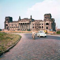 Reichstag Berlin 1958 by Josef Heinrich Darchinger