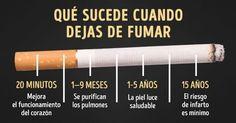 ¿Qué es lo que le pasa a tu cuerpo cuando dejas de fumar cigarros? | Mi Mundo Verde