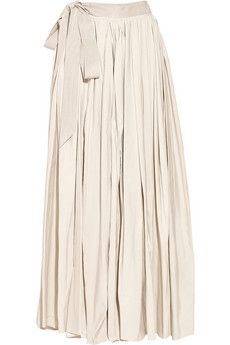 Lanvin Taffeta Maxi Skirt