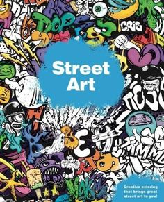 Color ninety-two street art pieces by some of the world's hottest urban artists and taggers in this fun coloring book! In this fun coloring book, kids can color ninety-two different murals, tags, sten