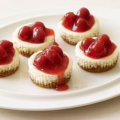 Weight Watchers Recipe - Cherry Cheesecakes