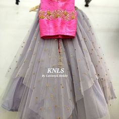 Children Wear, Kids Wear, Lehanga For Kids, Saree Blouse Designs, Tulle, Ballet Skirt, Clothing, Skirts, How To Wear