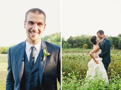 Tennessee Farm Wedding  Blue Groom's suite Green Door Gourmet  tealephotography.net