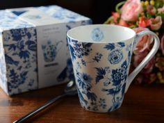 Garden Birds White Fine Bone China Mug in Gift Box *** Want to know more, click on the image.