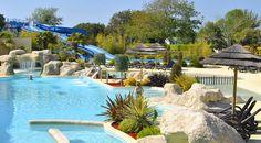 toboggan et parc aquatique