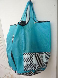 Bag made from old kite boarding kite