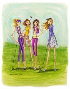 I Hope when i retire, i have ladies to go golfing with..